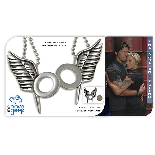 Battlestar Galactica Kara and Sam Forever Necklace