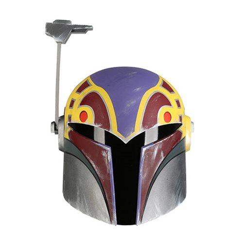 Star Wars Rebels Sabine Wren Season 4 Helmet Prop Replica