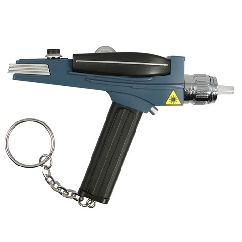 Star Trek The Original Series Phaser Laser Pointer Key Chain