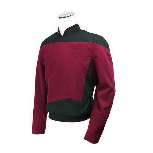 Star Trek the Next Generation Red Command Tunic Replica