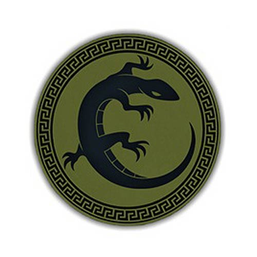 Ender's Game Salamander Army Green Patch