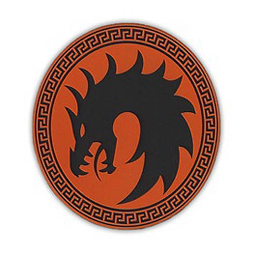 Ender's Game Dragon Army Orange Patch