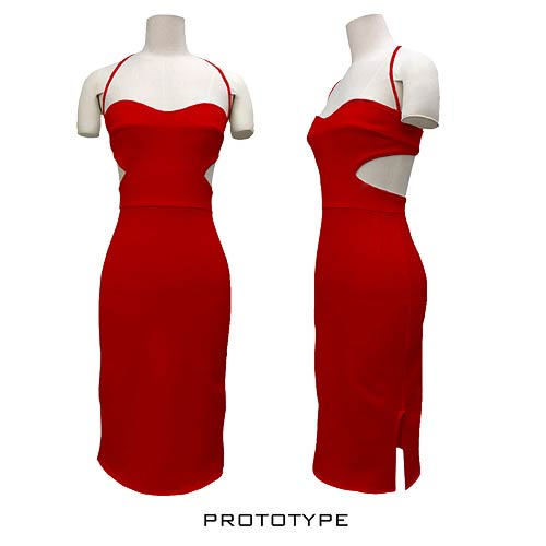 Battlestar Galactica Cylon Six Dress Replica