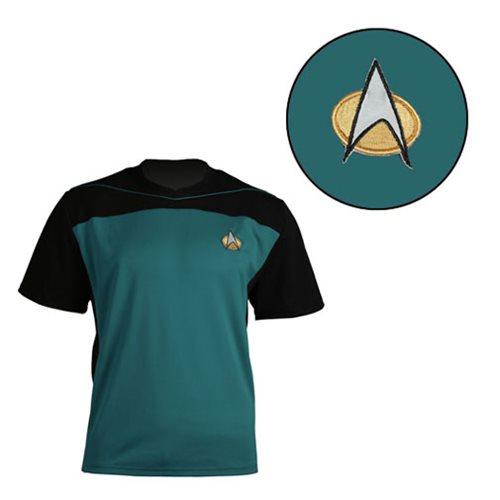 Star Trek: TNG Shore Leave Collection Blue Uniform T-Shirt