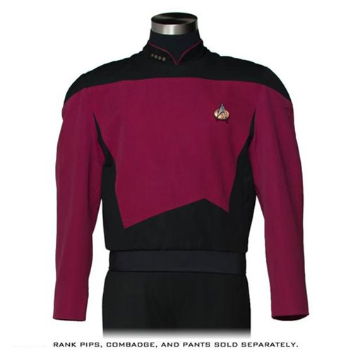 Star Trek TNG Command Burgundy Premier Line Tunic