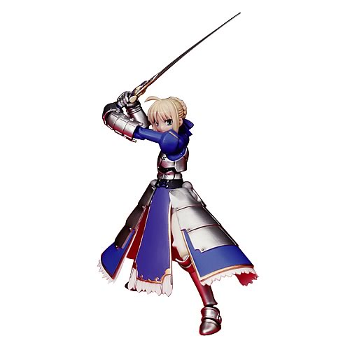 Fate Stay Night Saber Revoltech Action Figure