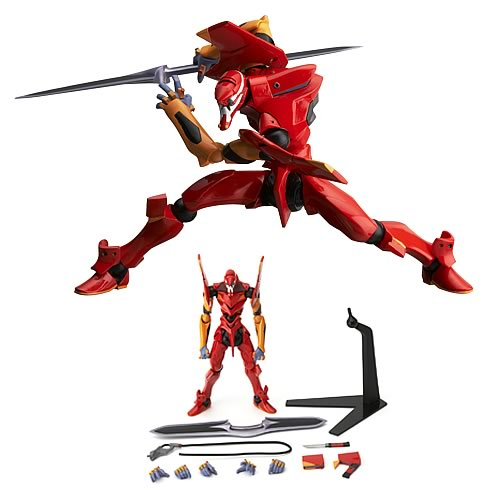 Neon Genesis Evangelion Movie EVA-02 Revoltech Action Figure