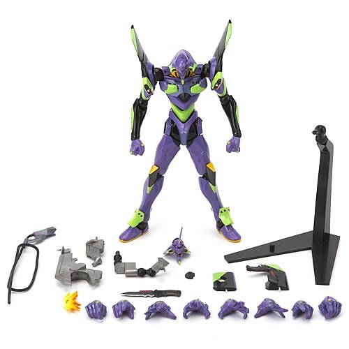 Evangelion EVA-01 Type G New Movie Edition Revoltech Figure