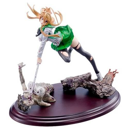 High School of the Dead Rei Miyamoto Statue