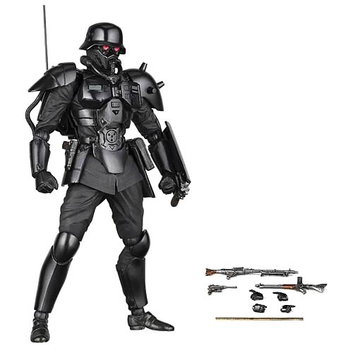 Jin-Roh Wolf Brigade Protect Gear Revoltech Action Figure