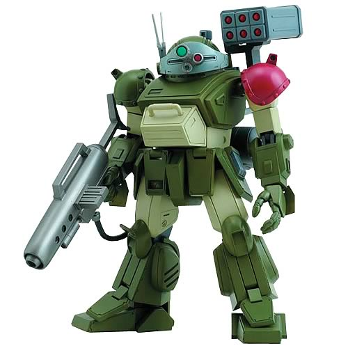 Armored Trooper Votoms Death Messenger Action Figure