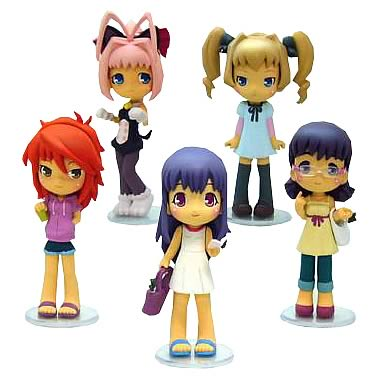 Chocotto Sisters Collection Mini-Figure Case
