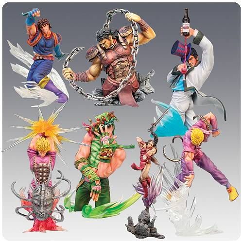 Jojo's Bizarre Adventure Collection Figure Case