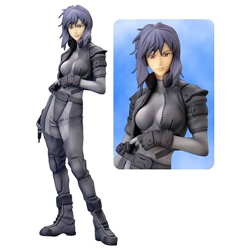 Ghost in the Shell Motoko Kusanagi Statue