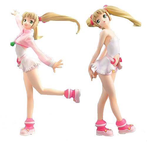 Burst Angel Amy 1:8 Scale Statue 2-Pack Set