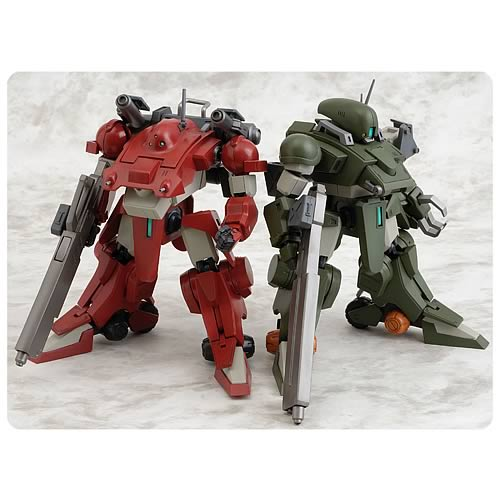 Votoms Blue Knight Berserga Calamity Dog Figure Set