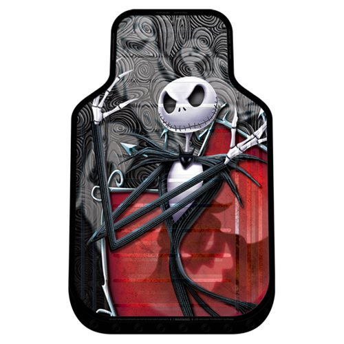 Nightmare Before Christmas Ghostly Plasticlear Floor Mat 2-Pack
