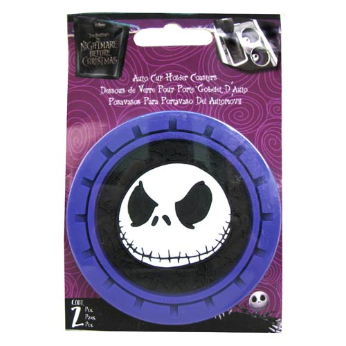 The Nightmare Before Christmas Auto Coasters 2-Pack - PlastiColor ...