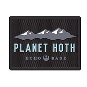 Star Wars Planet Hoth Echo Base Logo Utility Mat