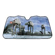 Star Wars Hoth Scene Accordion Sunshade