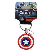 Avengers Assemble Marvel Captain America Shield Key Chain