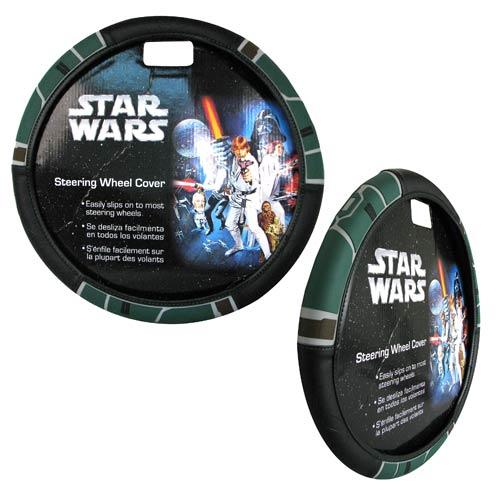 Star Wars Boba Fett Mandalorian Steering Wheel Cover