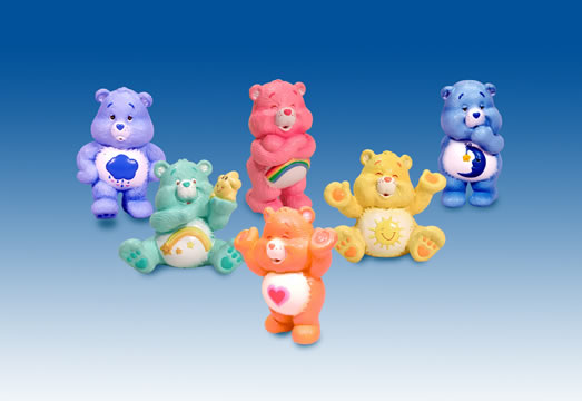 Care Bears PVC Figurine Asst.