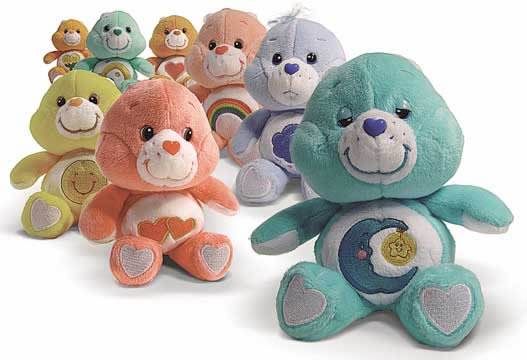 Care Bears Beanie Asst.