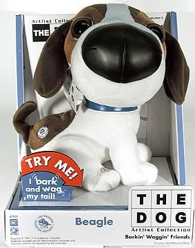 10 inch Beagle Plush