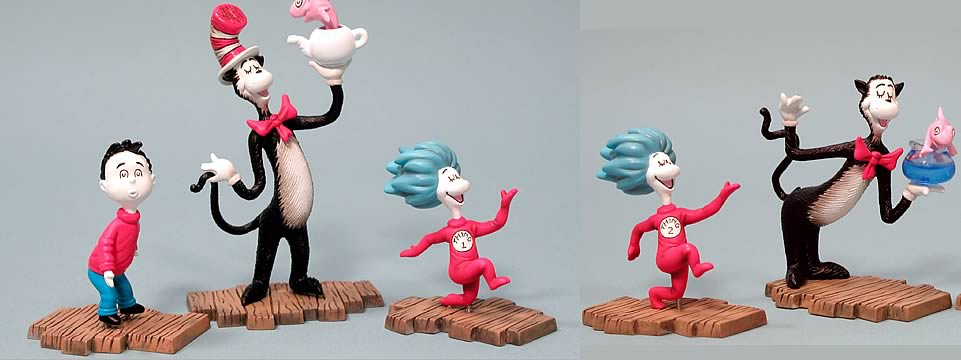 Cat in the Hat 3-Pack Set