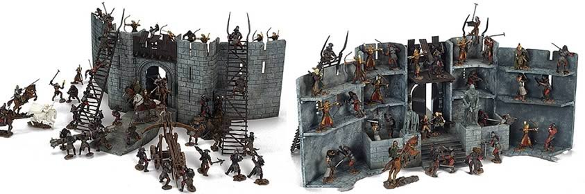 Lord Of The Rings Helms Deep Figures