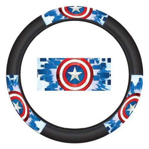 Captain America Shield Speed Grip Steering Wheel