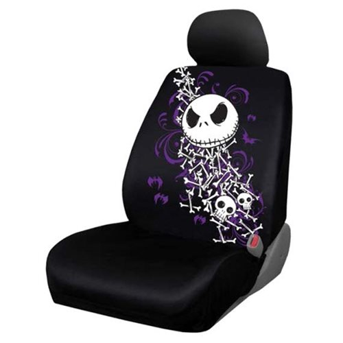the nightmare before christmas bones low back seat cover plasticolor nightmare before. Black Bedroom Furniture Sets. Home Design Ideas