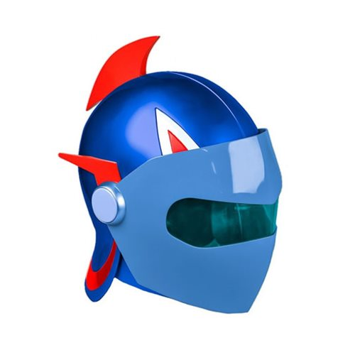 Life-Size Anime Helmet - Grendizer Duke Fleed Blue Gattaiger!