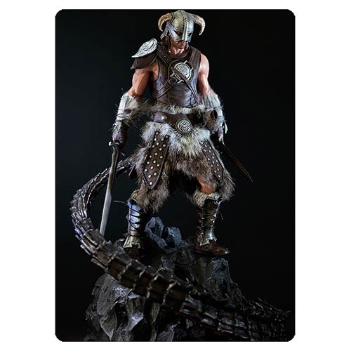 The Elder Scrolls V Skyrim Dragonborn 1:6 Scale Statue