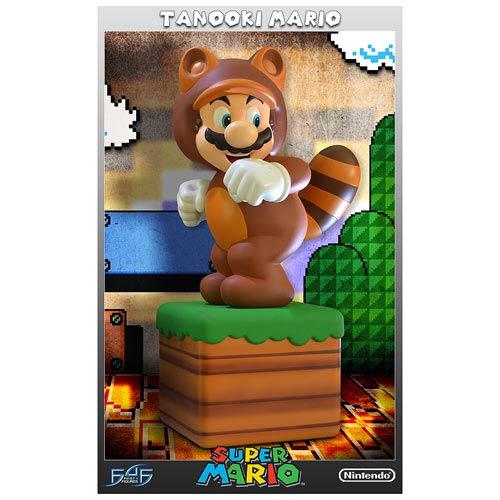 Super Mario 3-D Land Tanooki Mario Statue