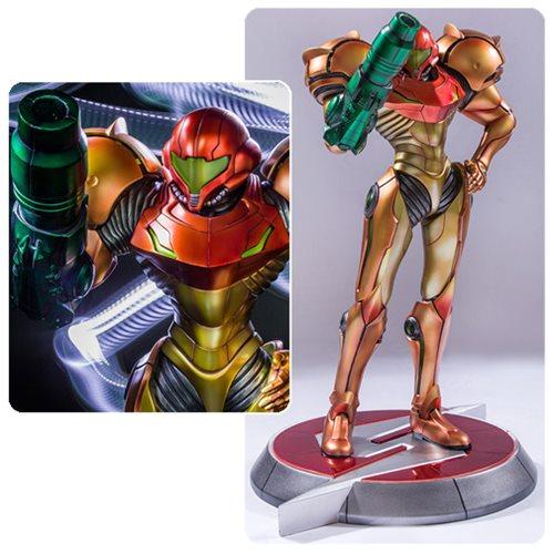 Metroid Prime Samus Varia Suit 1:4 Scale Statue
