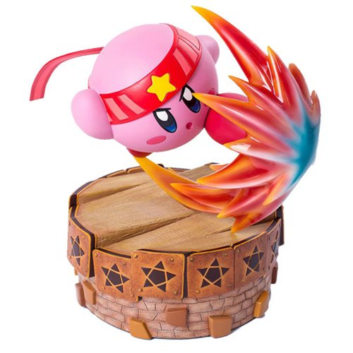 Kirby's Return in Dream Land Fighter Kirby 13-Inch Statue