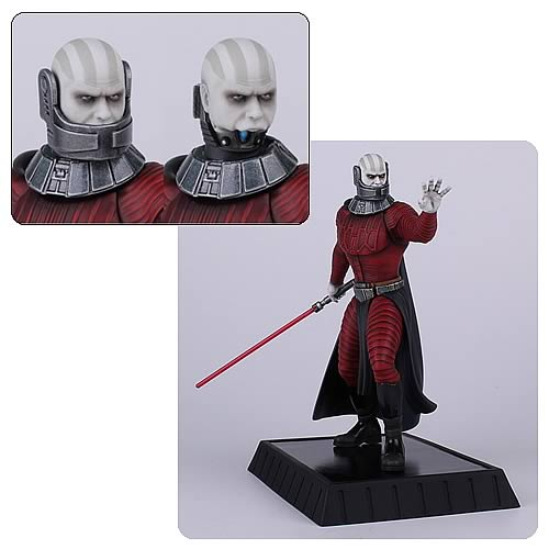 Star Wars Knights of the Old Republic Darth Malak Statue