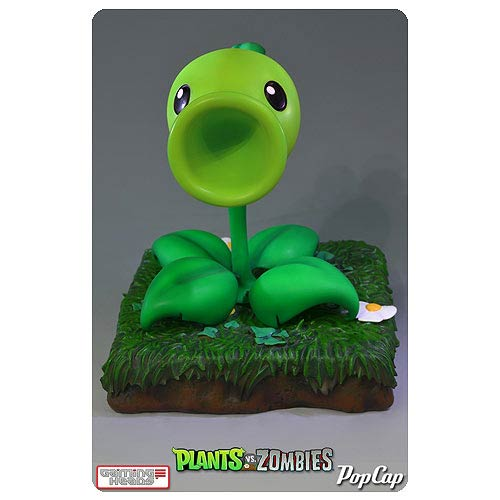 Plants vs. Zombies Peashooter 9-Inch Limited Edition Statue