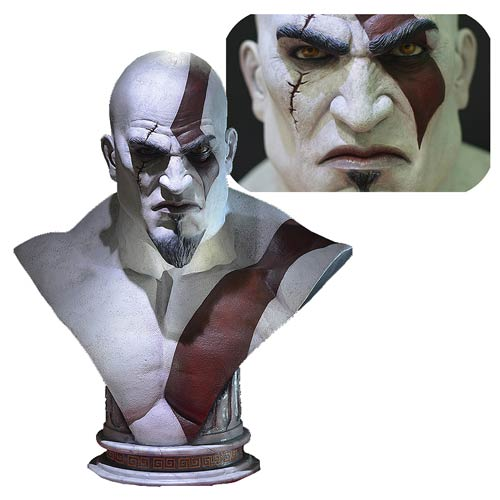 God of War Kratos Life-Size Bust