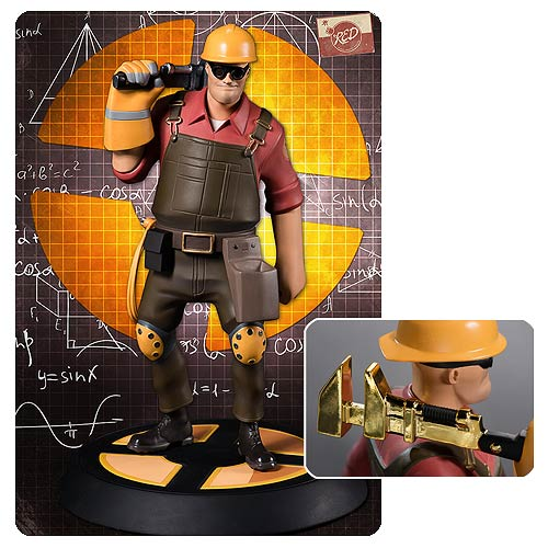 Team Fortress 2 The Engineer RED Statue