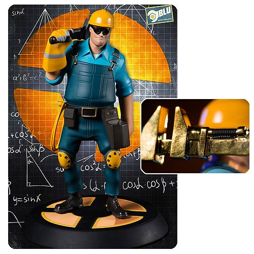 Team Fortress 2 The Engineer BLU Statue