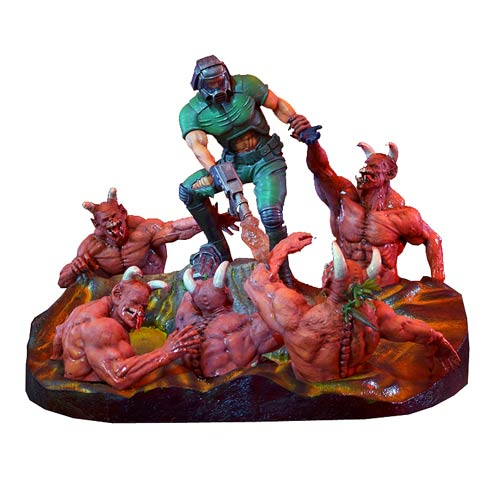 Doom Knee Deep in the Dead 12 1/2-Inch Statue