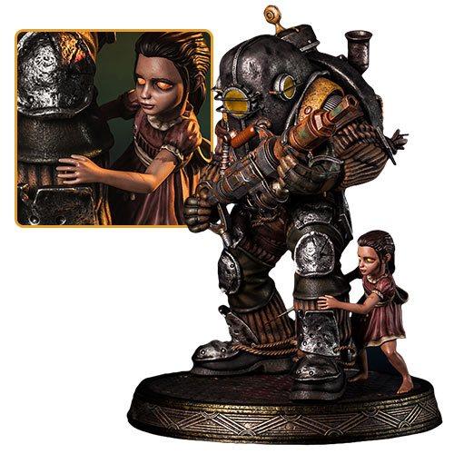 Картинки по запросу BioShock Statues - 1/4 Scale Big Daddy & Rosie Statue