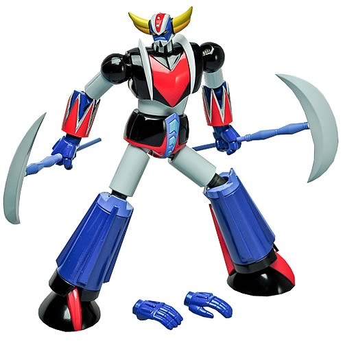 Grendizer Metaltech01 Manga Die-Cast Metal Action Figure
