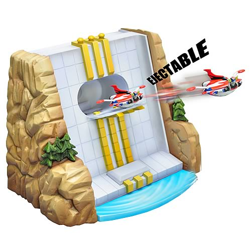 Grendizer Dam Base Playset