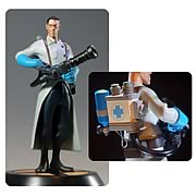 Team Fortress 2 The Medic Blue Statue