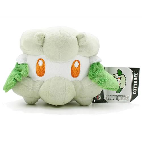 Pokemon Center Black and White Cottonee Plush