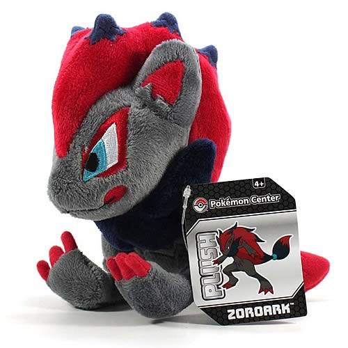 Pokemon Center Black and White Zoroark Plush